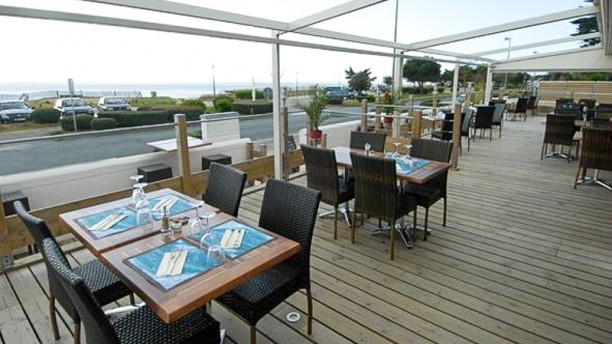 Le Grand Large terrasse