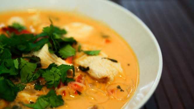 Chicken Soup - Fishtail Restaurante, Lisboa