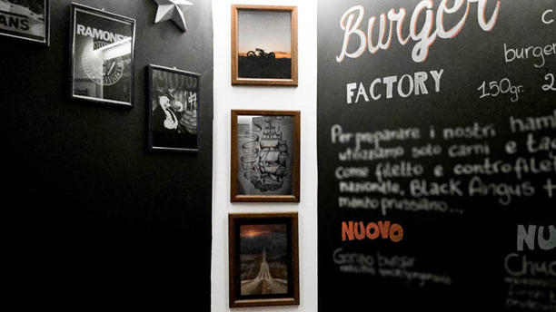 The Burger Factory dettagli