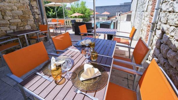 Restaurant Vuillot terrasse