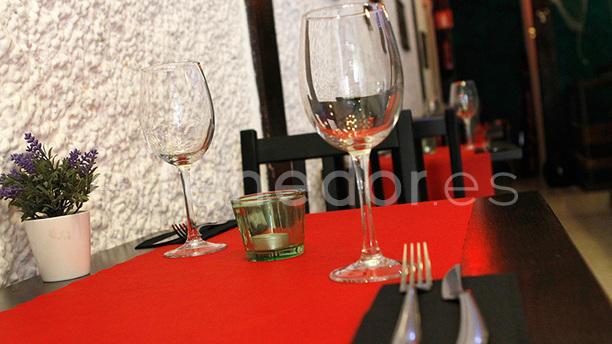 La Taberna del Veneziano Detalle mesa