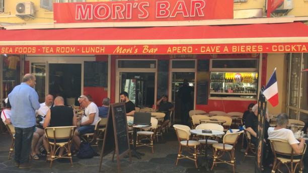 Le Mori's Bar Façade du restaurant