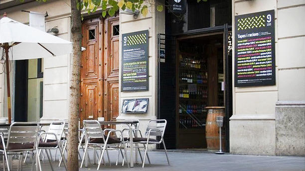9 Granados Restaurant terraza