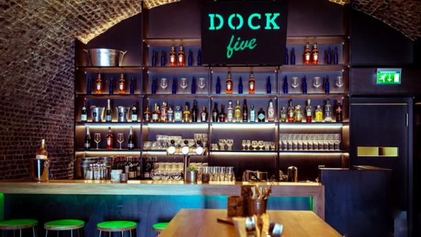Gastrobar Dock Five Restaurantzaal