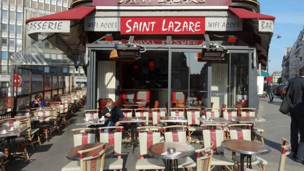 restaurant terrasse saint lazare paris 75008 saint. Black Bedroom Furniture Sets. Home Design Ideas