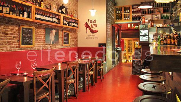 Tacón Rojo Sala principal