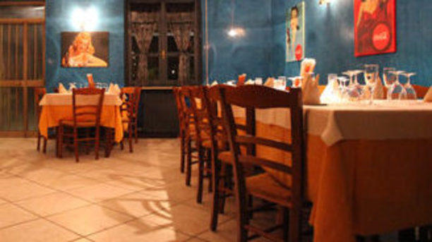 Ristorante Pizzeria La Mimosa sala interna