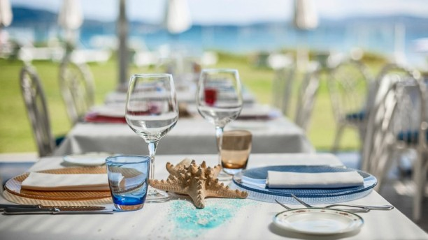 Summer Beach Restaurant Adults Only Tavolo con vista