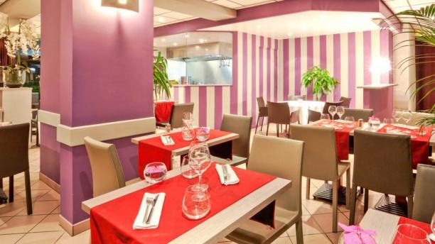 Le Carré Restaurant Vue sur la salle