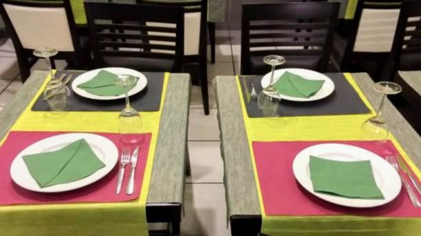 Grelhador da Boavista detalhe da mesa