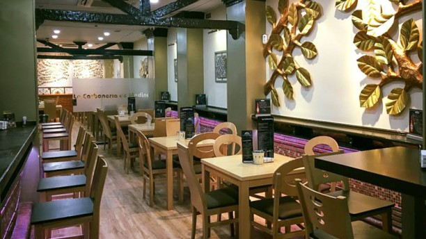 La Carbonería de Medina Sala del restaurante