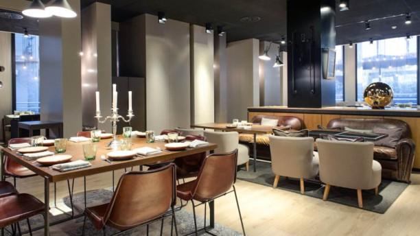 City Restaurant - Grand Hotel Central La sala