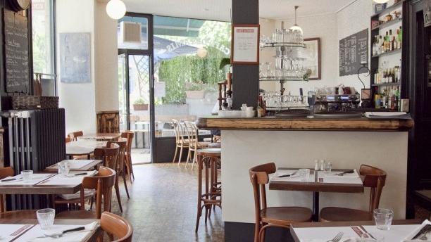 Café des Amis Aperçu de la salle