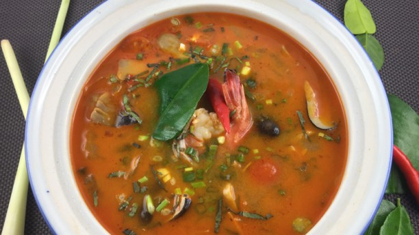 Sabai Thai Grande soupe, Tom Yum Kung