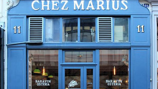 Chez Marius Vue exterieur