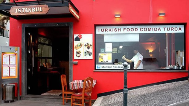 The Grill Istanbul Entrada