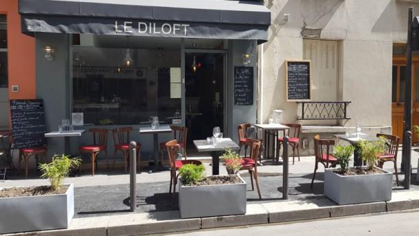 Le Diloft Terrasse