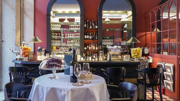 Cocorico Restaurante Vista do interior