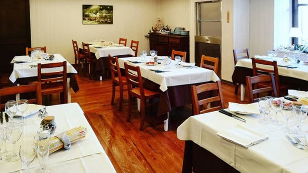 Bar Trattoria del Castello Vista sala