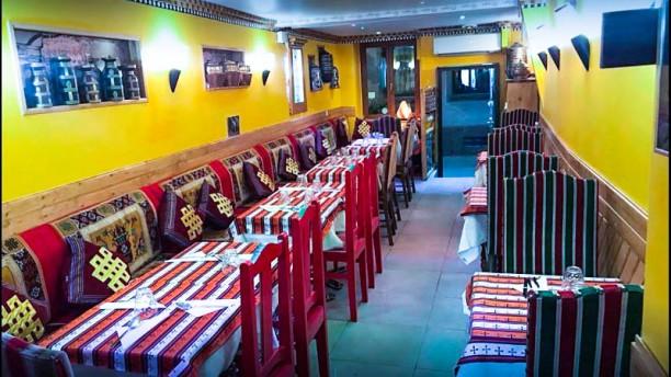 Tibet Gourmand vue de la salle