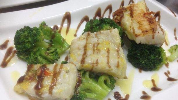 Osteria del Liffo piatto di pesce.JPG