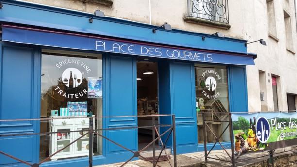 Place des Gourmets Façade du restaurant