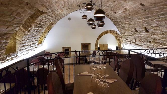 Salle du restaurant - L'Angelus, Montpellier
