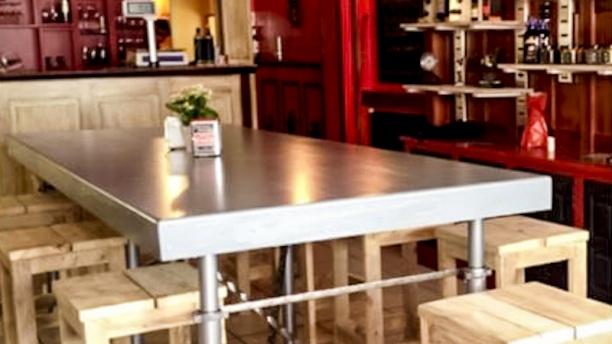 L'épicerie Luz del Sur Vue table