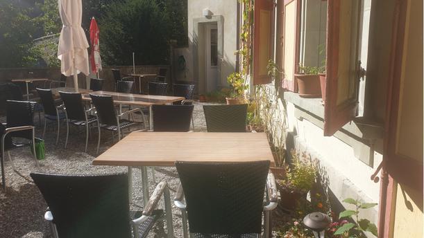 Café de la Marionnette Terrasse