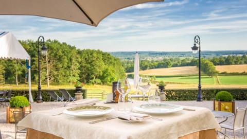 restaurant - Château d'Ygrande - Bourbon-l'Archambault