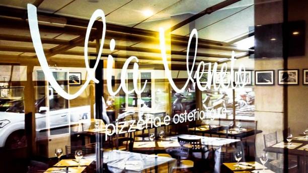 Osteria Via Veneto La vetrina