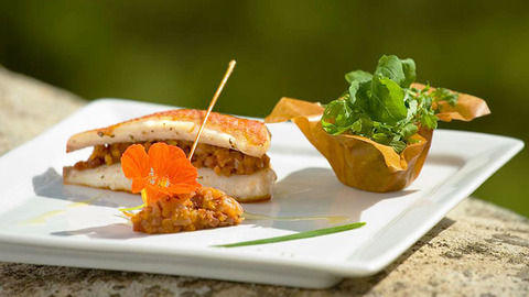 restaurant - La Rotonde du Manoir - Chamaret