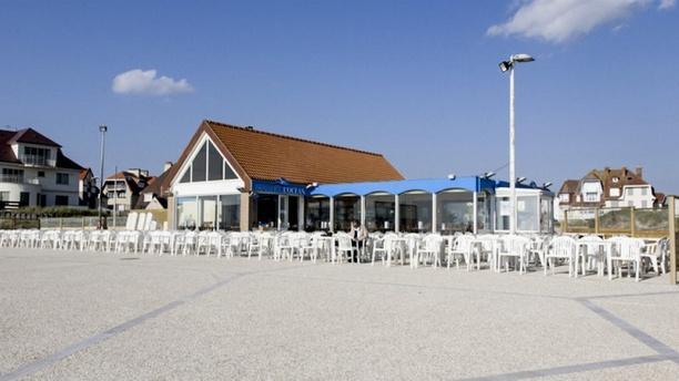 L´océan restaurant - lounge Vue sur la terrasse