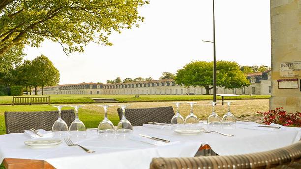 La Corderie Royale La terrasse