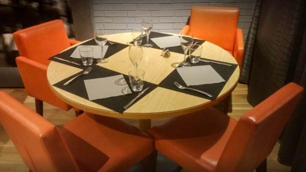 La Brasserie ST table dressée