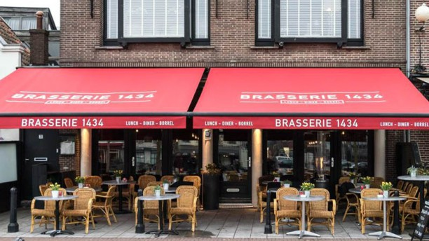 Brasserie1434 Terras