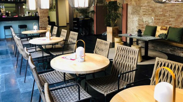 Mediterrace garden Restaurante salón