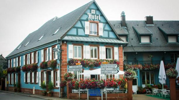 Hôtel Restaurant Aux Comtes de Hanau Facade