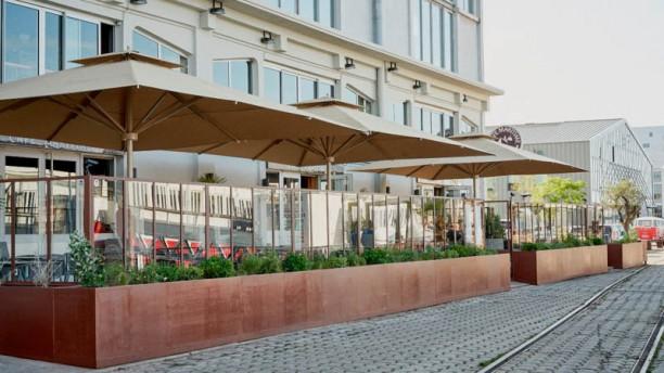 Café Maritime Bordeaux Terrasse