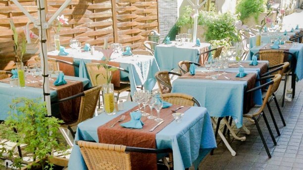 Plaisirs Gourmands Terrasse
