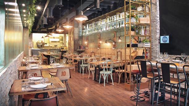 2254 Restaurant Vista de la sala