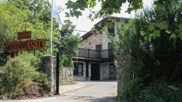 Posada Cantabria Vista entrada