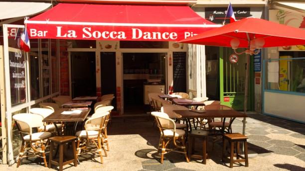 La Socca Danse Façade du restaurant