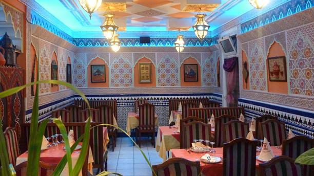 La table marocaine Vue de la salle
