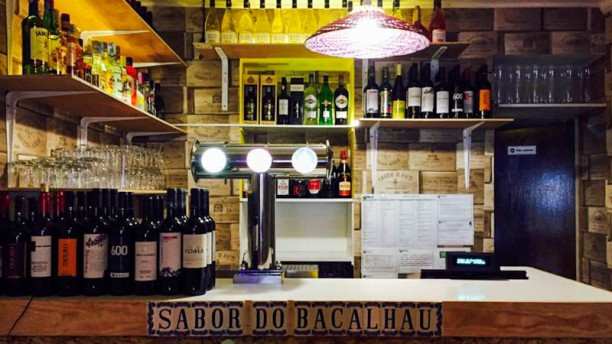 Sabor do Bacalhau and Wine Bar Sala do restaurante