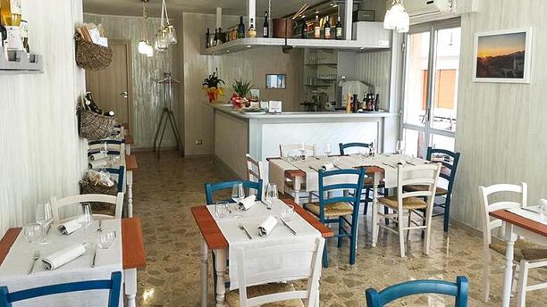 Le Terre di Maja Sala del ristorante