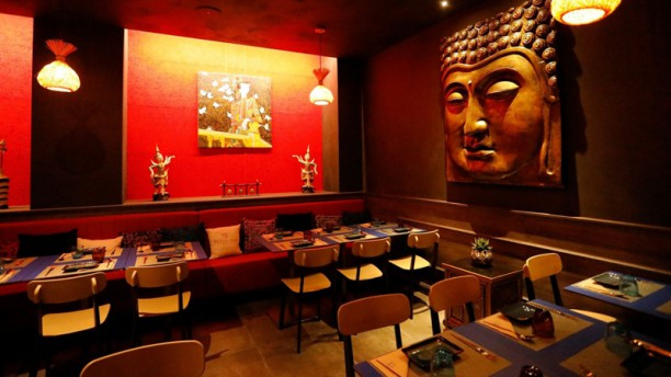 My Thai Restaurant Interno