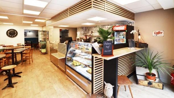 Calmos Café Vue de la salle