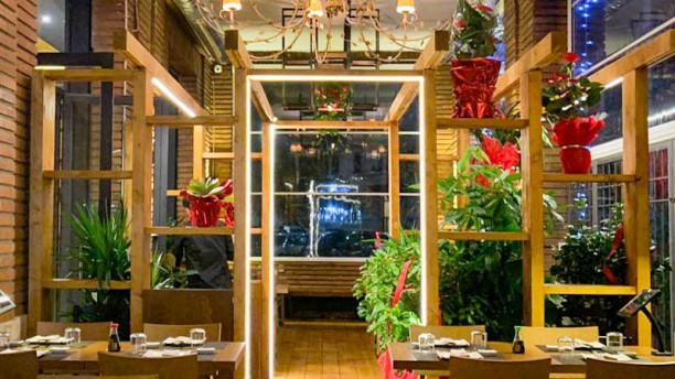 Iki Oriental Restaurant Vista sala