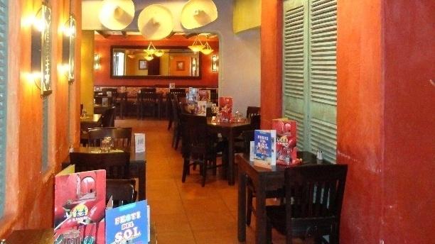 El Rancho Place d'Italie Salle du restaurant